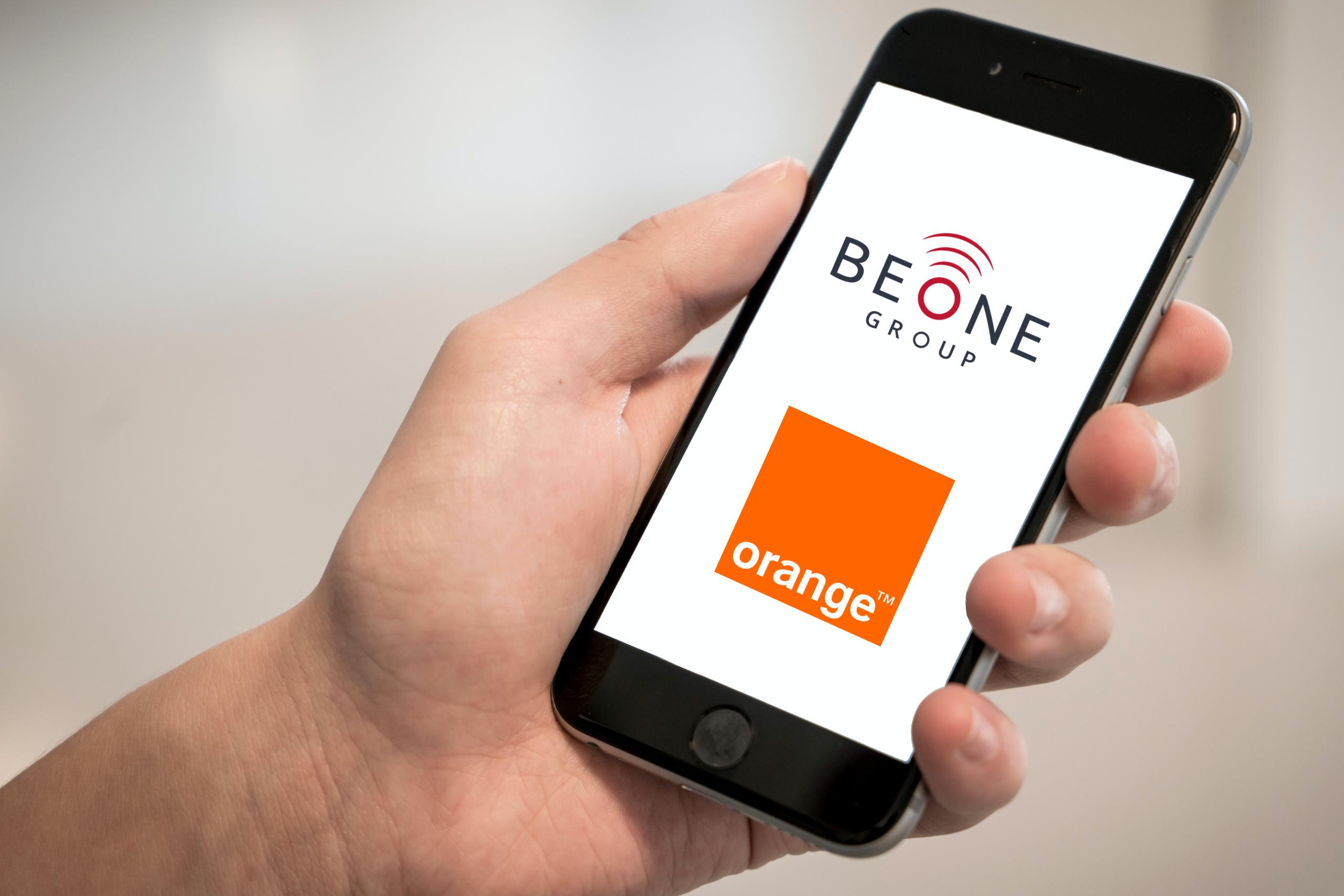 Téléphonie Mobile Orange via BeOne