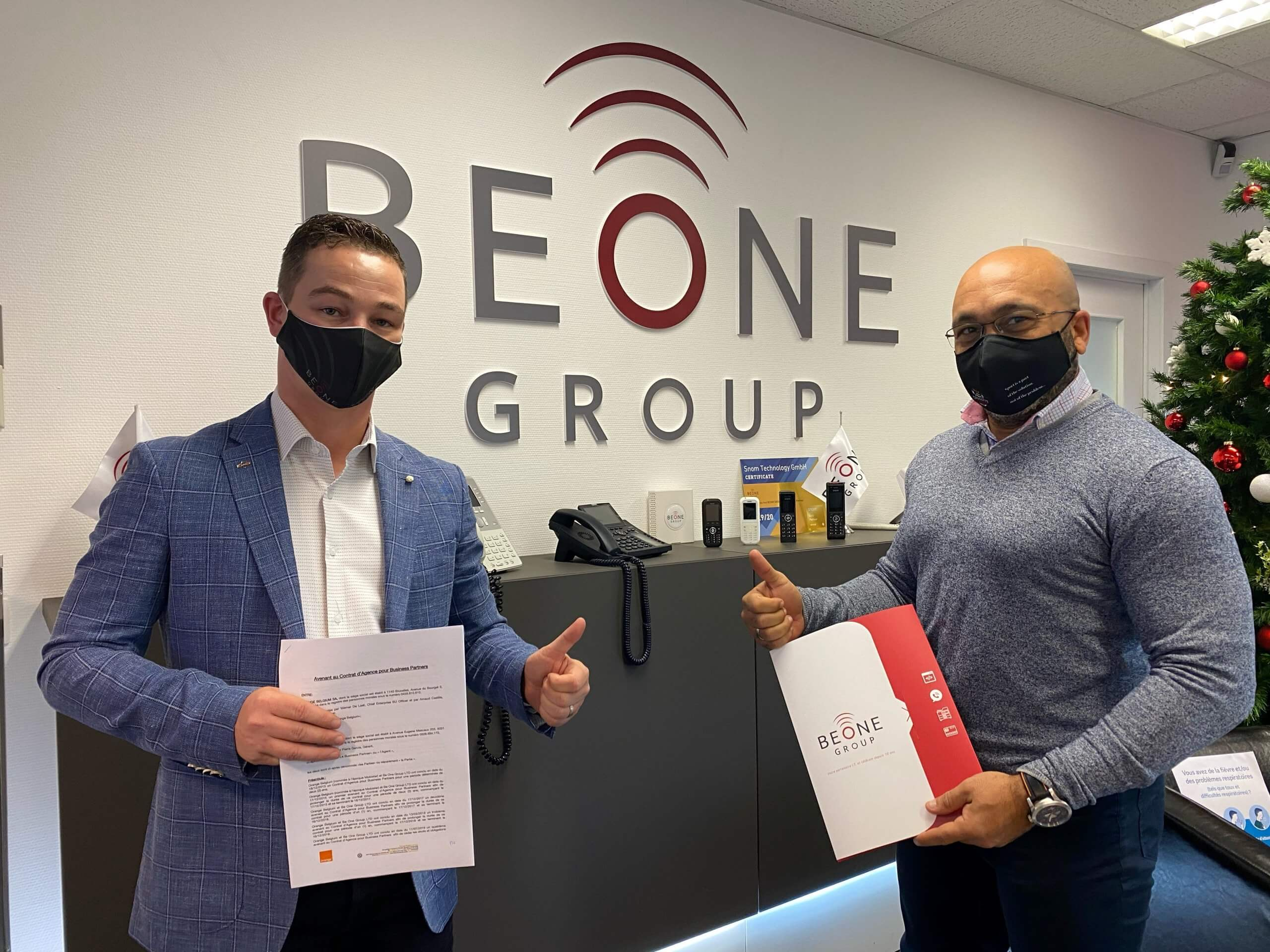 signature contrat orange BeOneGroup